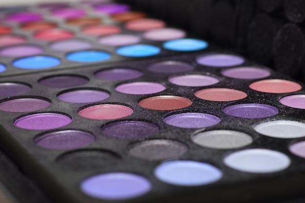 Make-up palette background texture
