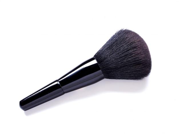 Makeup brush isolated on white background