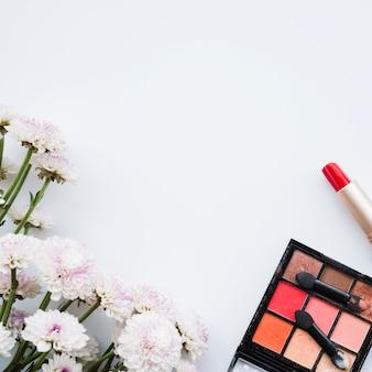 Makeup and eyeshadows