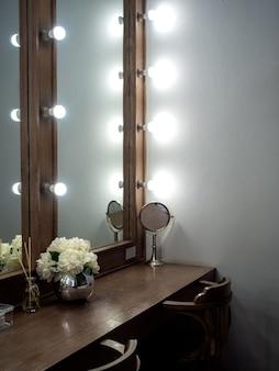 Makeup room vintage style.
