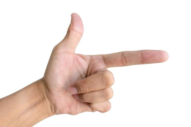 手の記号で形を作ります。