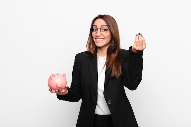 Making capice or money gesture, telling you to pay your debts!