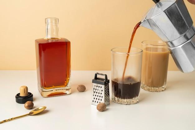 집에서 커피 만들기