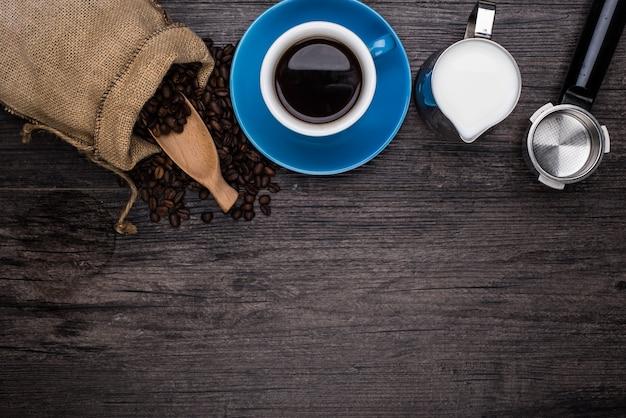 Making a coffee