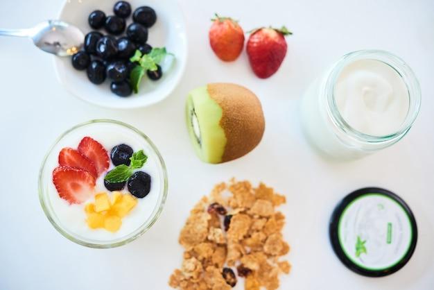 집에서 건강한 아침 식사 만들기