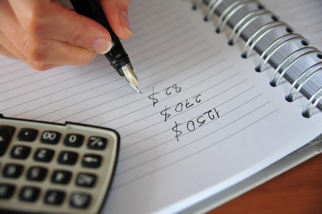 Делать домашний бюджет