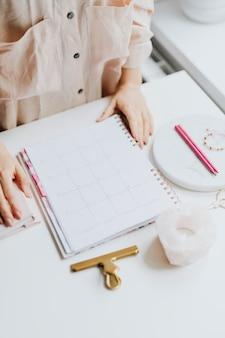 Making a schedule
