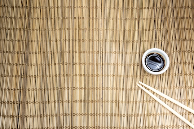 The makisu is the mat with which you prepare sushi or even where the japanese dishes are served.
