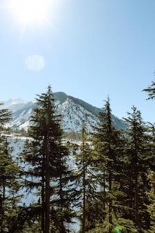Malam jabba and kalam swat scenery landscape