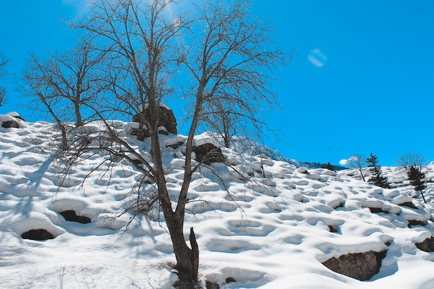 Malam jabbaとkalam swatの風景風景