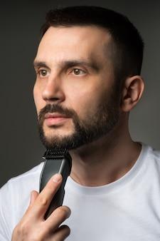 Male beard trimmer trimer