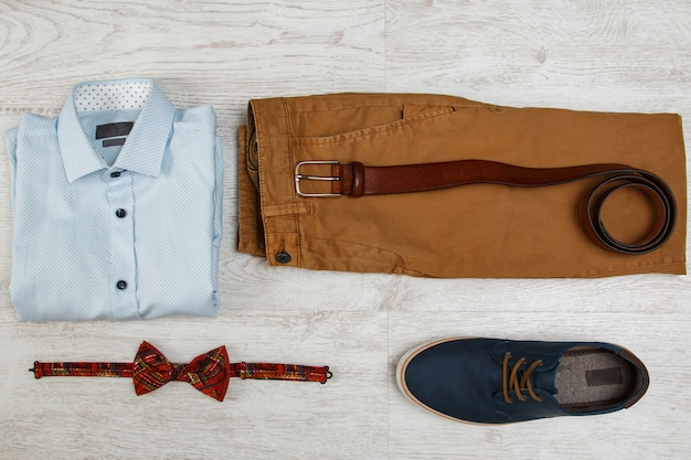 Male clothes and accessories