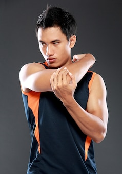 Мужской фитнес-растяжка