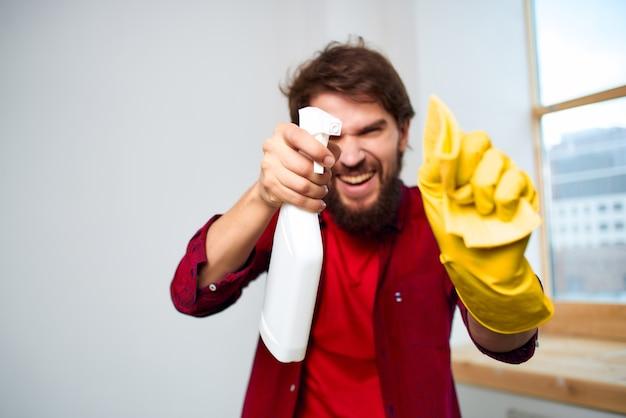 Профессиональная чистка моющих средств для мужчин