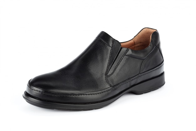 Male shoes ankle boots isolated
