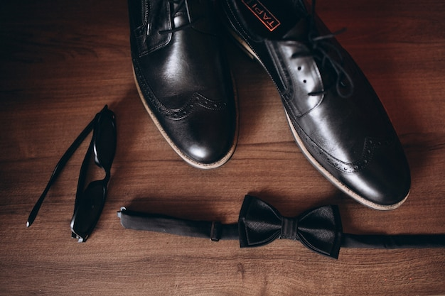 Male wedding shoes