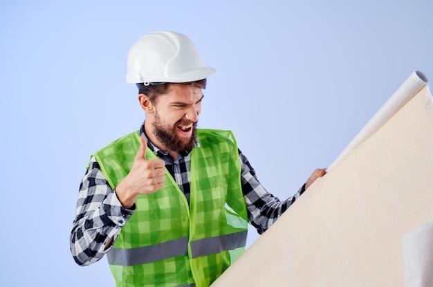男性労働者建設工事デザイン専門職スタジオ産業