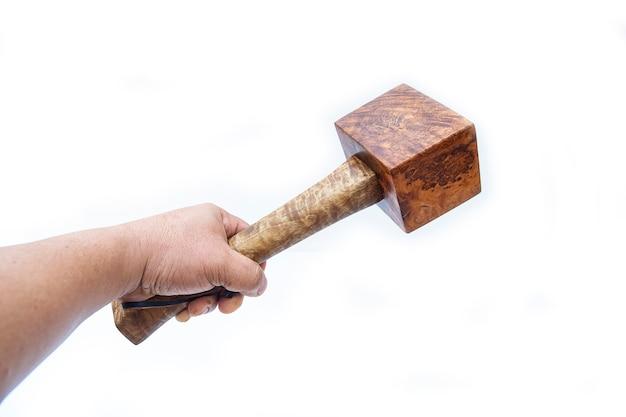 Молоток из капа из дерева, инструменты для плотника