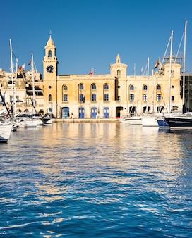 Malta maritime museum in vittoriosa