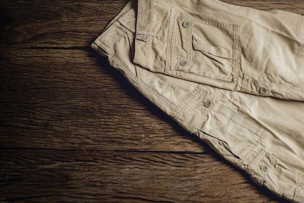 Man casual pants