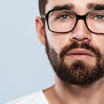 Man in eyeglasses