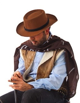 Man in far west