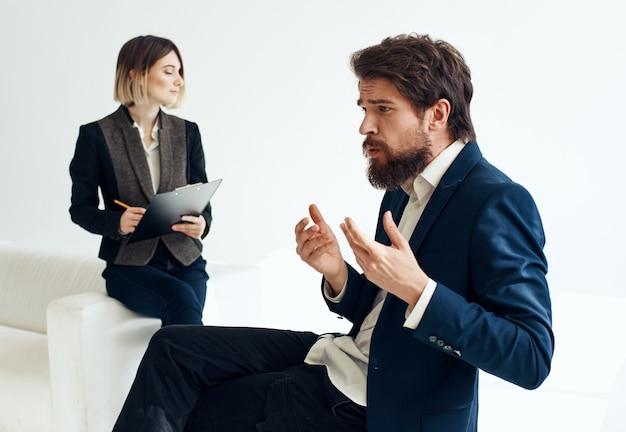 就職面接の男性採用女性ビジネス欠員履歴書