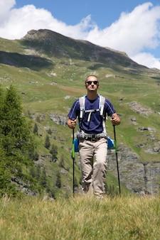 Man hiker