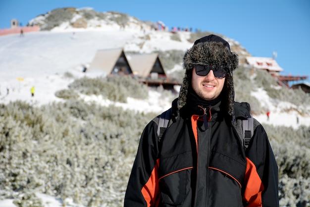 Человек в снегу Бесплатные Фотографии