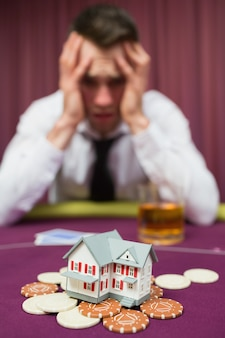 Man losing his house in casino