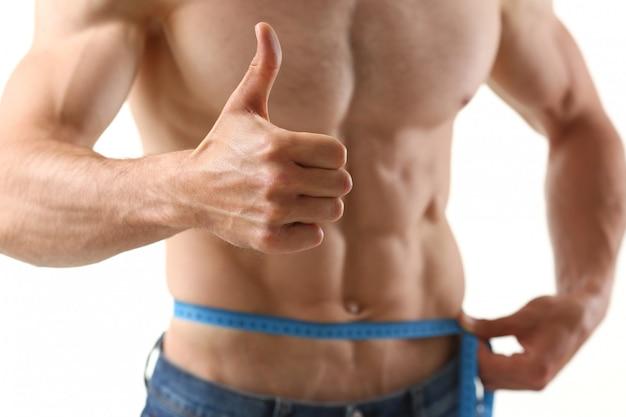 Человек похудел благодаря диете