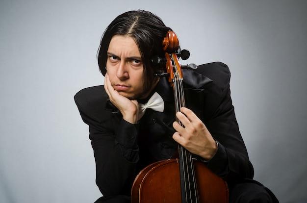 Man in musical art