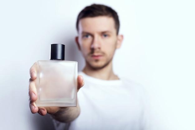 Man and perfume
