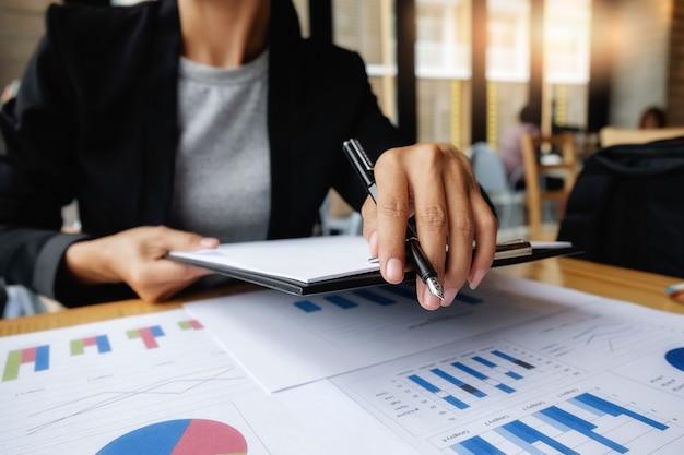 Man plan work growth success workplace