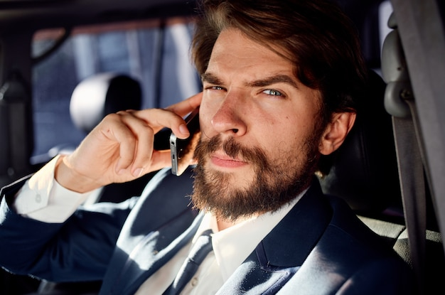 Man talking on the phone official lifestyle