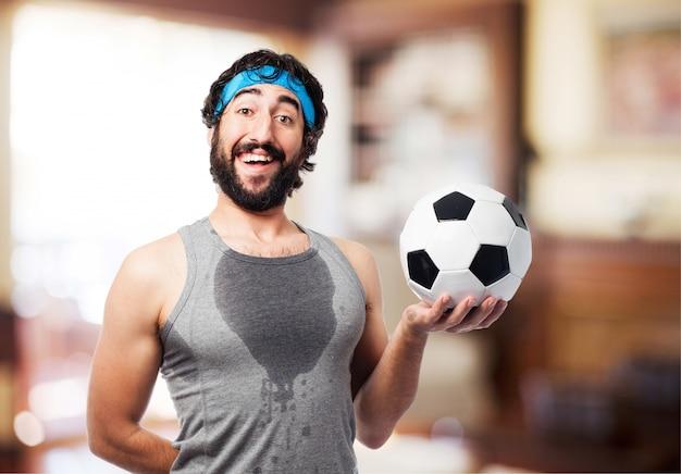 L'uomo con una palla