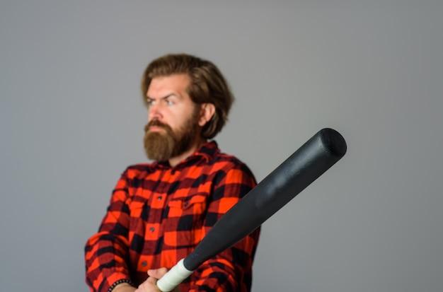 Man with baseball bat baseball sport bat sport equipment baseball player