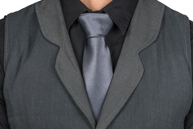 Man with tie