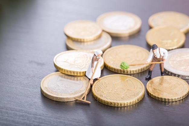 Бизнес-концепция управления. очистите свои деньги.
