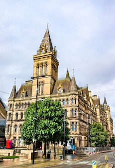 맨체스터 타운 홀, 영국 맨체스터에있는 빅토리아 시대의 네오 고딕 시립 건물