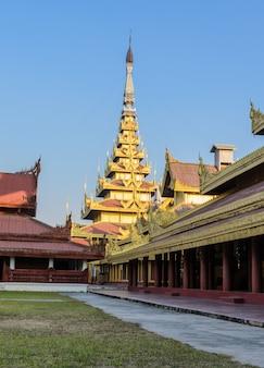 만달레이 왕궁, 미얀마