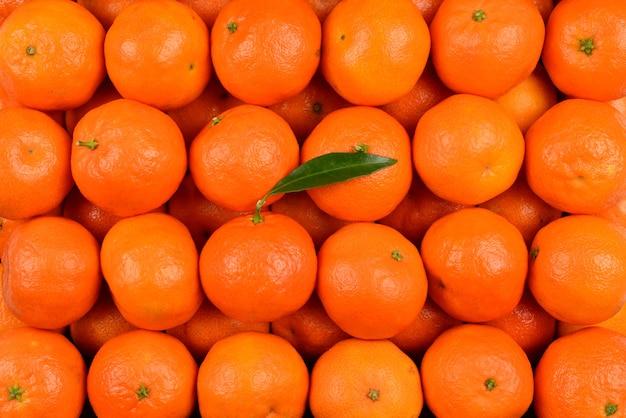 マンダリンオレンジの背景。