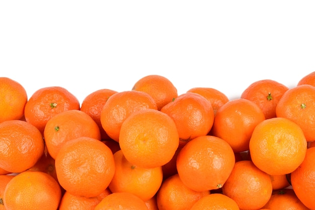 Поверхность мандаринового апельсина