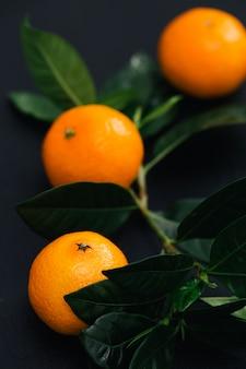 Mandarins on the table