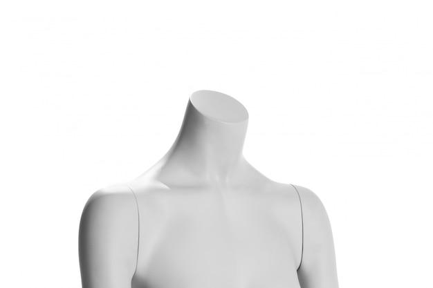 Maneken female isolated