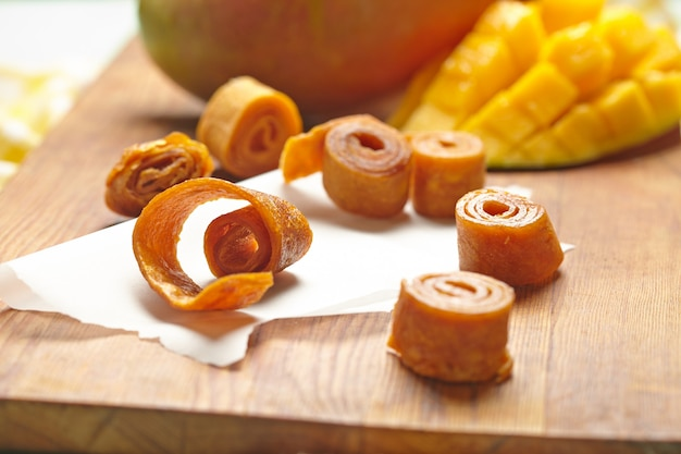 Манго фруктовая кожа