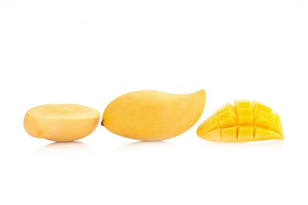 Mango isolated no white background
