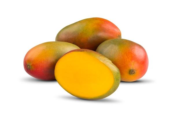Mango on a white isolated. fresh fruits