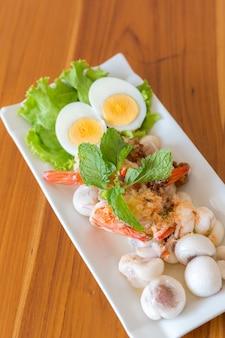 Мангостиновый пряный салат