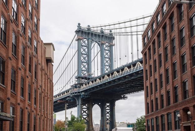 뉴욕시에서 맨해튼 브리지